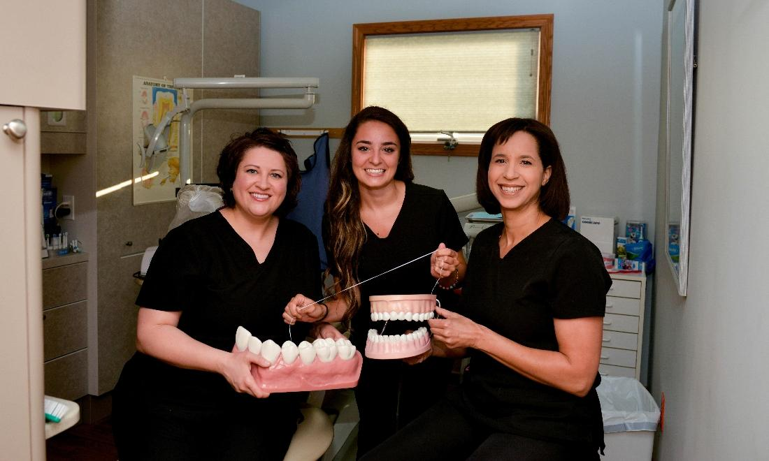 Image of the hygienists at the office | Hermitage PA